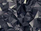 Abstraktní černé kosmické futuristické textura — Stock fotografie