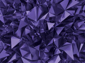 Abstract trendy ultra violet faceted background — Stock Photo