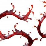 Red liquid splash — Stock Photo #27618739