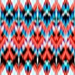 Abstract ethnic ikat seamless pattern background — Stock Photo #27618817