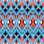 Abstract ethnic ikat seamless pattern background — Stock Photo #27618835