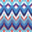 Stock Photo: Abstract ethnic ikat seamless pattern background