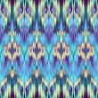Abstract ethnic ikat seamless pattern background — Stock Photo #27618883