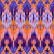 Abstract ethnic ikat seamless pattern background — Stock Photo