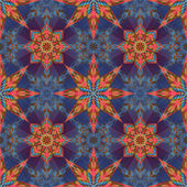 Modern fashion textile ornament — Stockfoto