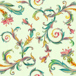 Vintage floral pattern — Stock Photo #27620047