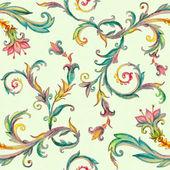 Vintage floral pattern — Stock Photo