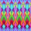 Multicolor intricate ikat ethnic seamless pattern — Stock Photo #29957339