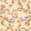 Vintage floral seamless pattern — Stock Photo #31610267