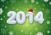 Nieuwjaar nummer promotionele banner — Stockfoto