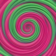 Stock Photo: Christmas candy spiral background