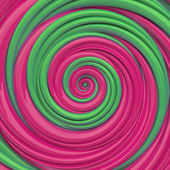 Christmas candy spiral background — ストック写真