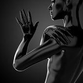3d female torso — Stock Photo