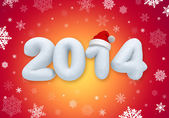 New year number promotional banner — Stock Photo