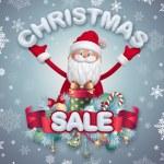 Christmas sale banner — Stock Photo