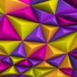 Abstract multicolor architectural background — Stock Photo