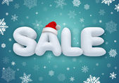 Christmas sale — Foto Stock