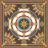 Fashion textile ornament — Stock Photo