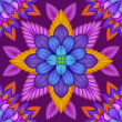 Abstract floral kaleidoscope — Stock Photo #41806033