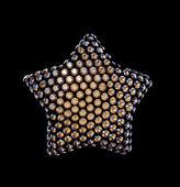 Crystallized star — Stock Photo