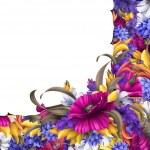 Ornate flower vintage corner — Stock Photo #48471219