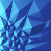 Geometrical blue background — Stock Photo