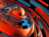 3d abstract background — Stock Photo