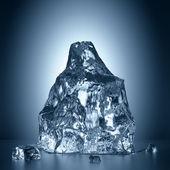 3d melting ice — Stock Photo