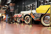 Classic cars museum — Stock Photo