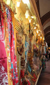 Turkish historical touristic bazaar in bursa city — Stock Photo