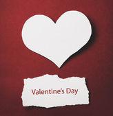 Открытка на день Валентина — Стоковое фото