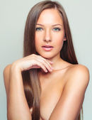 Woman with perfect skin — Stock Photo
