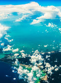 Beautiful aerial landscape — Stock Photo