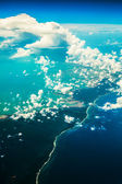 Beautiful aerial landscape — Stock Photo