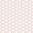 Seamless apple print pattern on white — Stock Photo