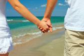 Koncepcję wakacji, romantyczne wakacje — Zdjęcie stockowe