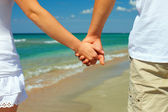 Vacation concept, holiday romance — Stock Photo