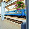 Railway station. Lviv, Ukraine — Stockfoto #21699399