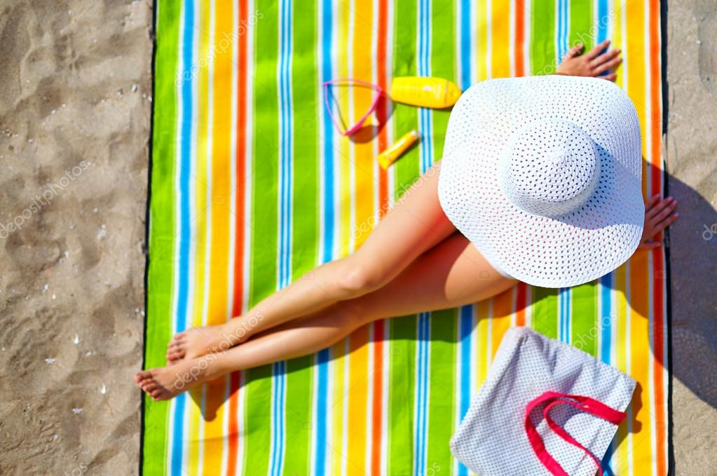 Берет на пляж