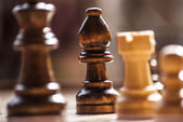 Chess, is time to paly a game — Stock Photo