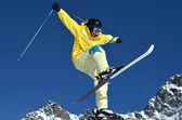 Fun and Ski — Stock Photo