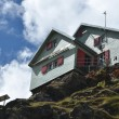Stock Photo: Weisshorn Hut