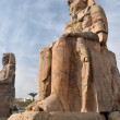 Stock Photo: Statues of Memnon