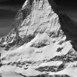Skiing and matterhorn — Stockfoto #13585169