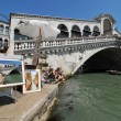 Stock Photo: Rialto Bridge in picture in picture