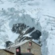 refuge de montagne de Suisse — Photo