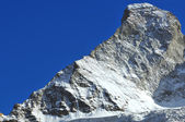 The Matterhorn and the Hornli ridge — Stock Photo