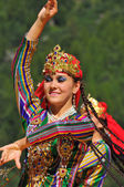 Uzbekistan Dance Group — Stock Photo