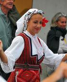 Macedonian Dance Group — Stock Photo