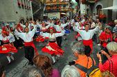 Portuguese Dance Group — Stock Photo